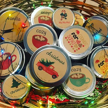 Holiday Travel Tins